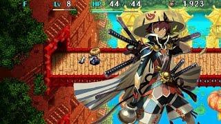 Shiren the Wanderer (Vita) English gameplay! :: Michibiku