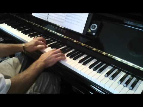 'La Valse d'Amelie' by Yann Tiersen, for piano solo, from 'Amelie'