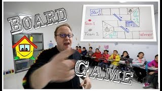 """""""Board Game"""" - ESL Teaching tips for your class or home!"""