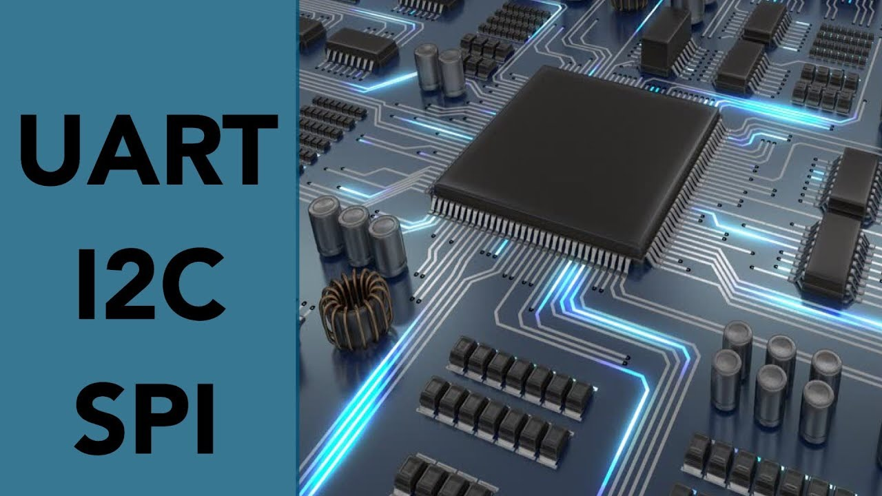Serial Communication Protocols in Embedded Systems | Introduction to  UART,I2C and SPI[HINDI]