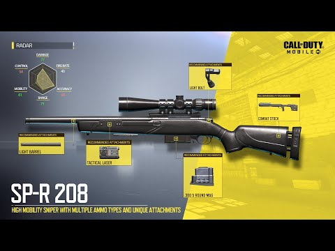 Call of Duty®: Mobile S2 New Weapon | SP-R 208