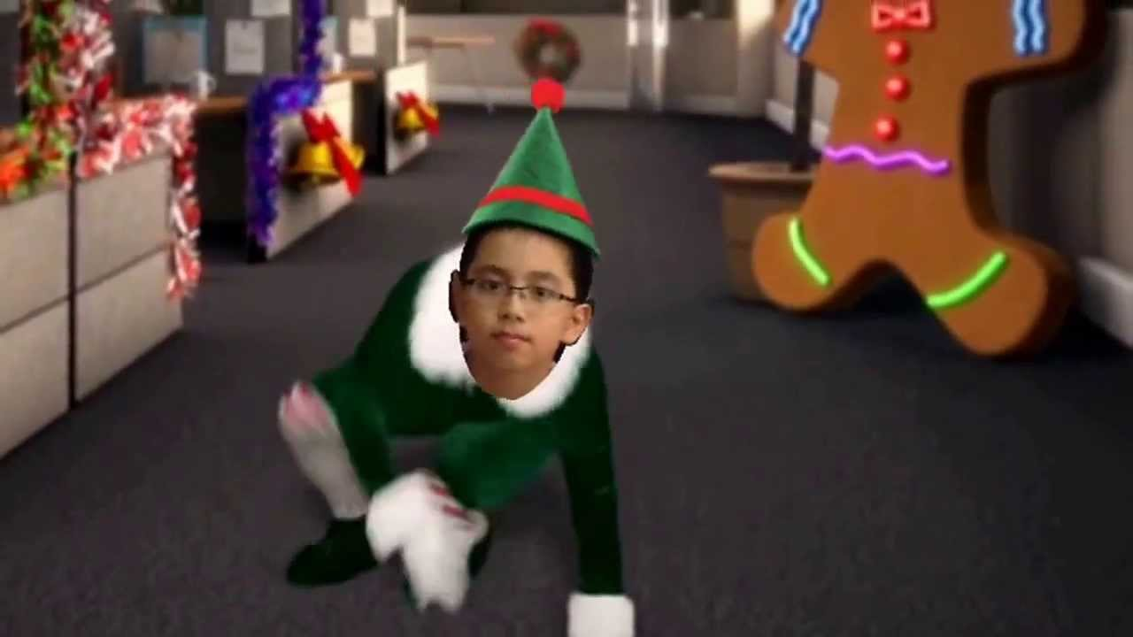 Our elf dance by ( office max elf yourself )