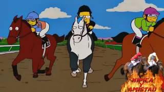Los Simpsons en las carreras