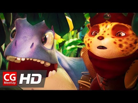 """CGI Animated Short Film: """"One Love Two Beasts"""" / Un Amour Deux Bêtes by ISART DIGITAL 