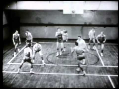Early 50's basketball plays: Featuring the Minneapolis Lakers and George Mikan