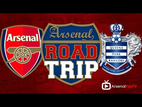 Arsenal v QPR Road Trip To The Emirates