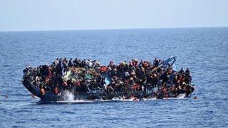 عشرات القتلى من المهاجرين غير الشرعيين عقب حادث غرق مركب جديد قبالة ليبيا