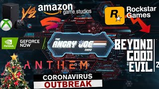 AJS News 2/10 - Xbox vs. Amazon/Google, Geforce Now vs Stadia, Anthem, Rockstar, Coronavirus & More!