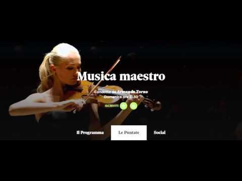 Musica maestro: il riferimento alla serata del 22 ottobre 2015 in Santa Maria delle Grazie