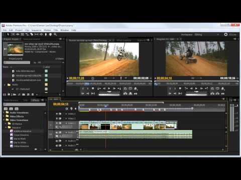 HOWTO: Basic Video Editing (Premiere CS5)