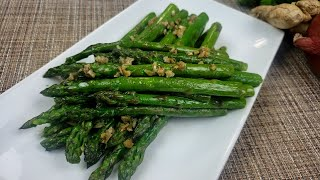 How To Cook Aspaŗagus in a pan| Sauteed Asparagus Recipe