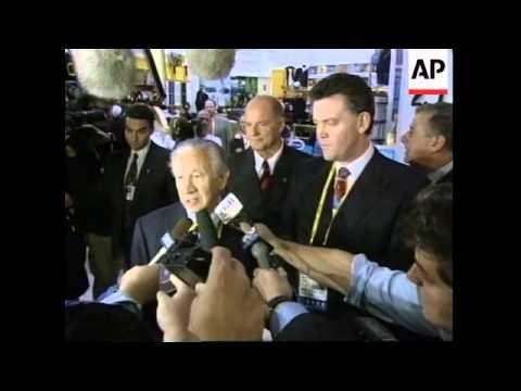 AUSTRALIA: JAUN ANTONIO SAMARANCH ARRIVES