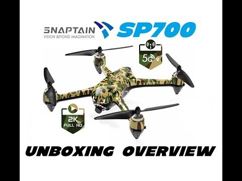 Фото SNAPTAIN SP700 Brushless 2K Camera Drone Overview