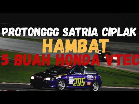 Protonggg Ciplak Satria MIVEC Hambat Honda VTEC