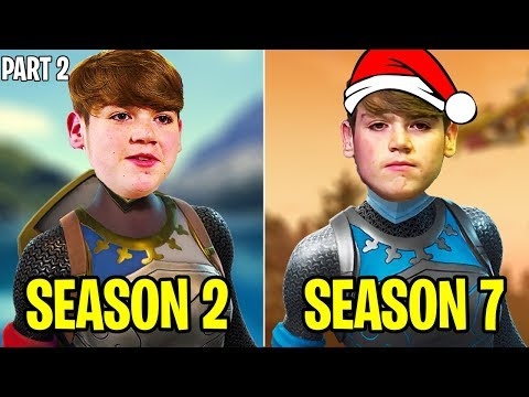 🇬🇧🔥Mongraal SEASON 2 VS SEASON 7 | Evolution Of Mongraal Part 2