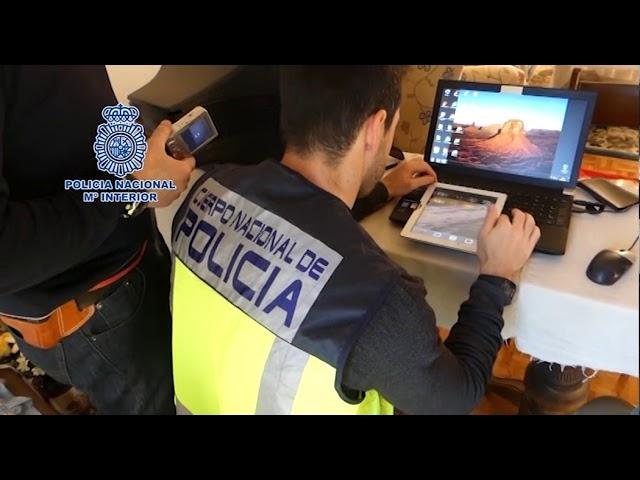 La Policía Nacional detiene a 40 personas que intercambiaban material pedófilo en Internet