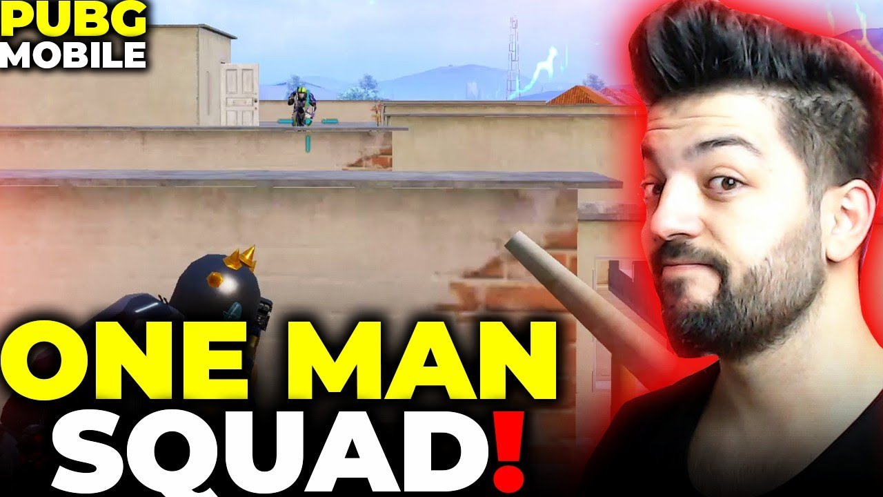 ONE MAN SQUAD !! PUBG MOBİLE