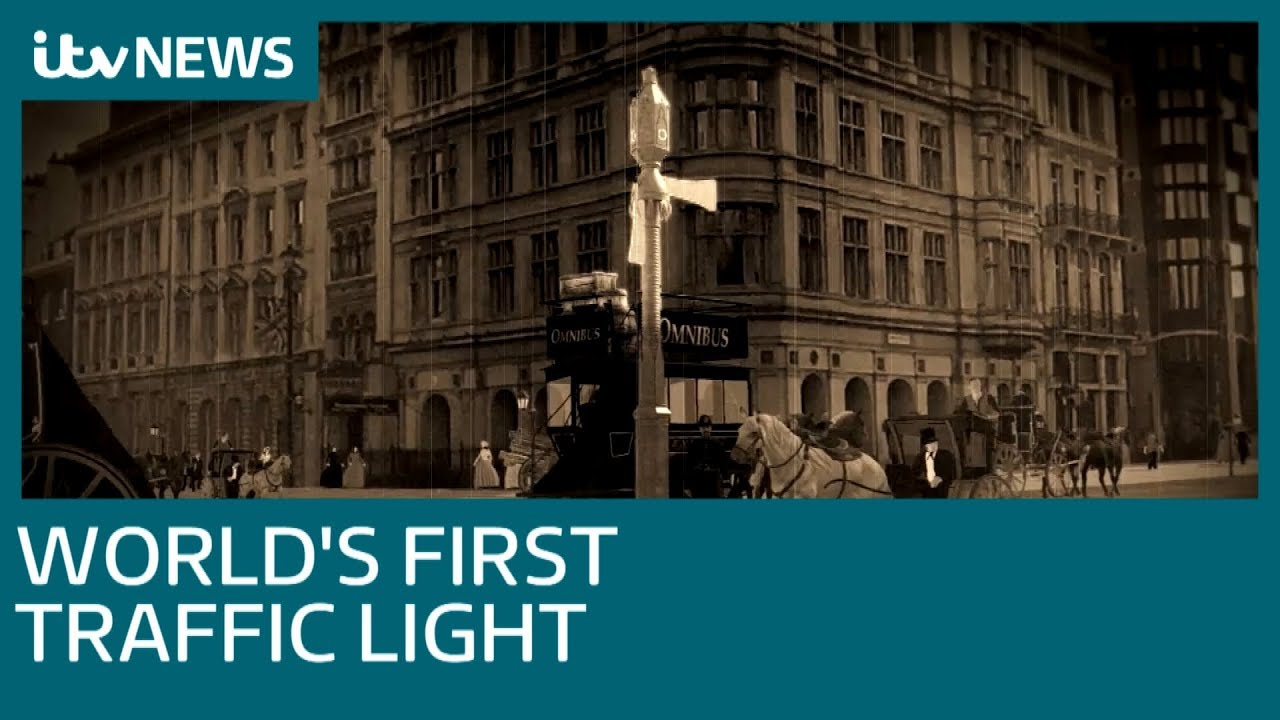 150 Years Since World S First Traffic Lights In London Itv News