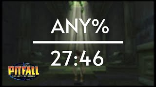 Pitfall: The Lost Expedition any% Speedrun (27:46)