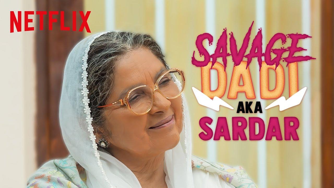 Neena Gupta As The Savage Daadi | Sardar Ka Grandson | Netflix India