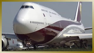 Ex-QATAR VIP Boeing 747 ( NEW TURKISH AIR FORCE ONE ) // TC-TRK