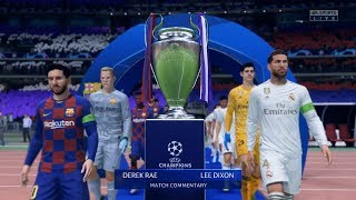 3000 likes :) fifa 20 - uefa champions league barcelona vs real madrid thanks for your support, don't forget to leave a like follow me on instagram: https...