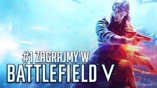 Battlefield V PL #1 - II WOJNA ŚWIATOWA - Polski Gameplay / Zagrajmy w - 4K60