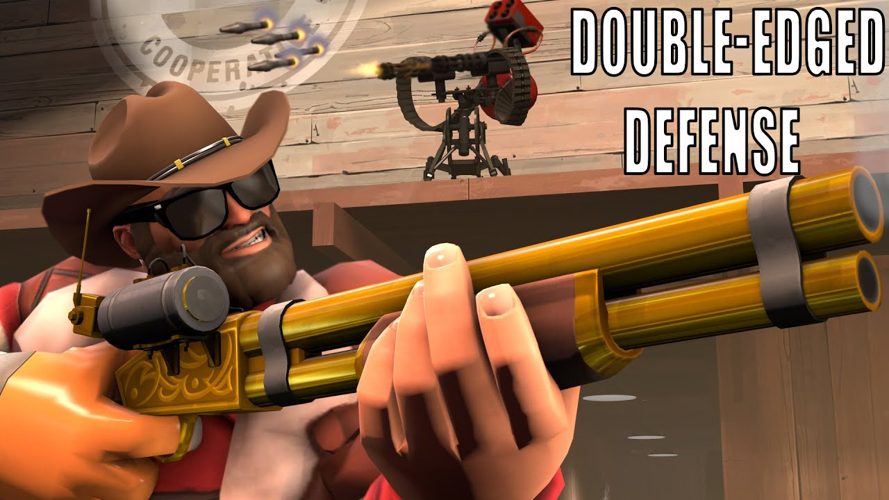Double-Edged Defense: A Frontier Justice Compilation (TF2)