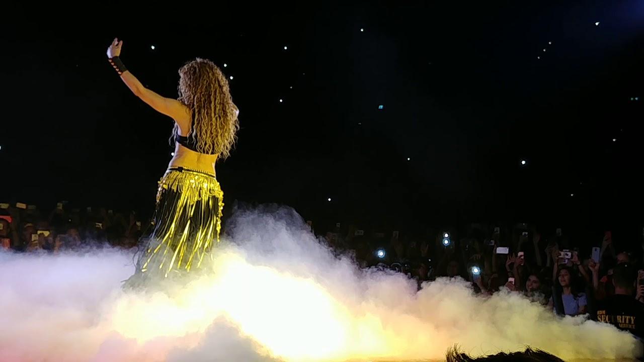 Download Shakira Whenever Wherever 2018 live Frontrow El Dorado Tour Munich