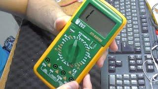 Посылочка от Banggood. Мультиметр BEST DT9205M. ОБЗОР, СРАВНЕНИЕ И ПРИМЕНЕНИЕ(+ремонт монитора)