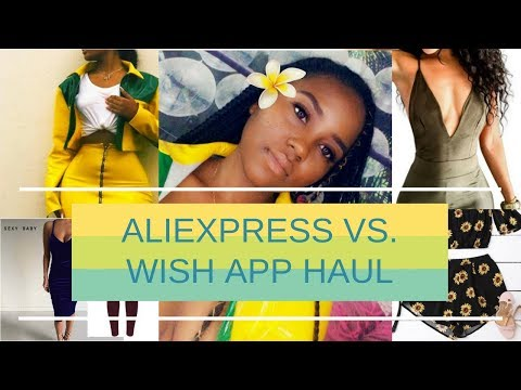 ALIEXPRESS VS. WISH | SUMMER 2018 TRY-ON HAUL