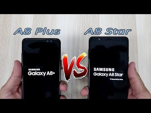 Samsung Galaxy A8 Star Vs A8 Plus Comparision , Speed Comparision , HINDI