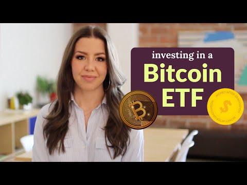 The Bitcoin ETF