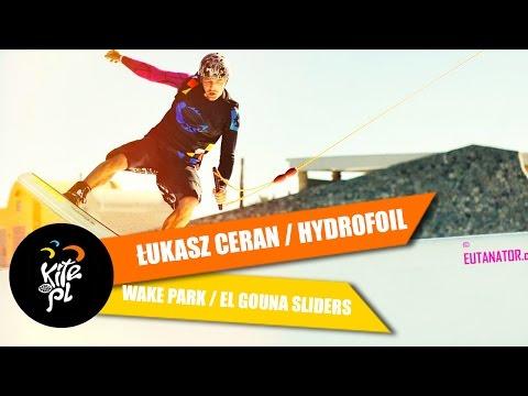 Łukasz Ceran / Hydrofoil / Wake Park / El Gouna Sliders