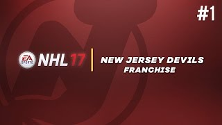 nhl 17 franchise mode 1 welcome to new jersey