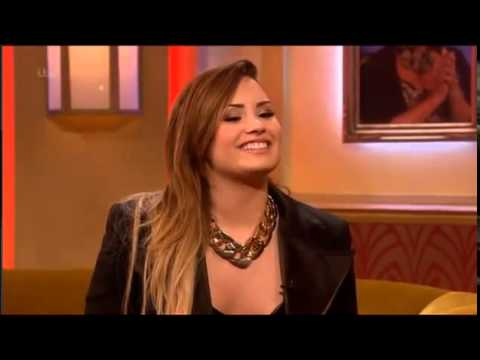 Demi Lovato on Paul O'Grady Show 28.5.14 (Part 1)