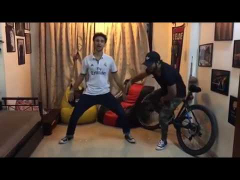 Raftaar and Raghav (Dancing star Crockroaxz)