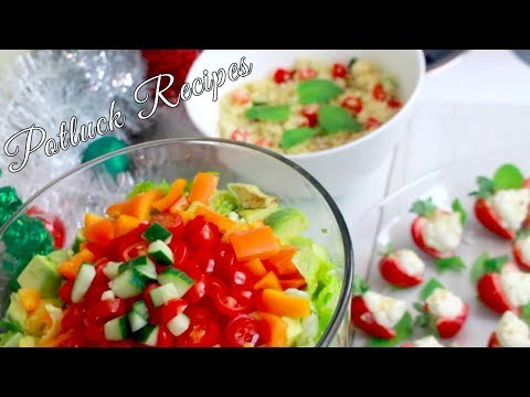 Easy Potluck Recipes  |  Quick & Simple