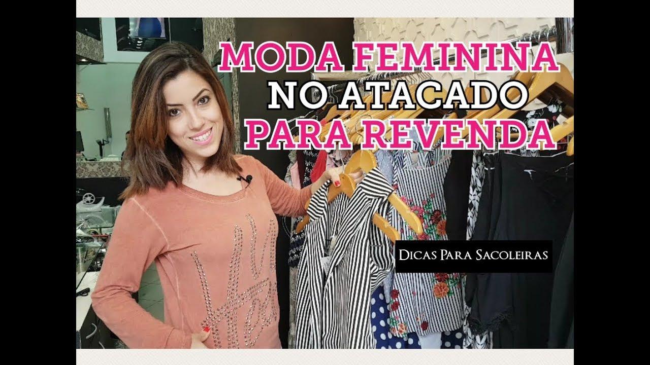 0a5cc249c5582 Moda Feminina Atacado Brás - YouTube