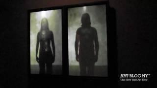 Bill Viola Video Installation at James Cohan Gallery, Fall 2009