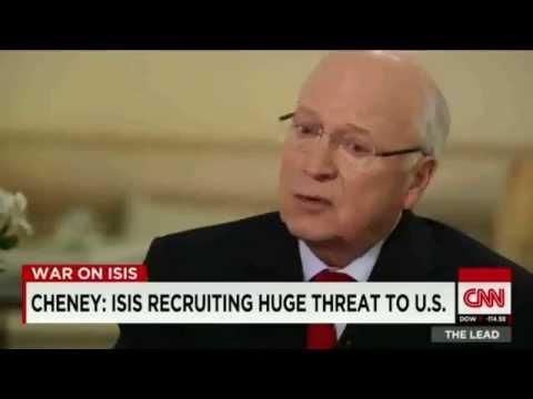 Dick Cheney warnt erneut! Neues 9/11 ▶ mit viel tödlicheren Waffen ◀ #usa #isis #cheney #falseflag