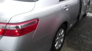 Видео-тест автомобиля Toyota Camry (серебро, 2AZ-FE, 2006г., Acv40-3006296)