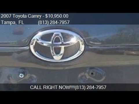2007 Toyota Camry CE/LE/SE/XLE for sale in Tampa, FL 33604 a