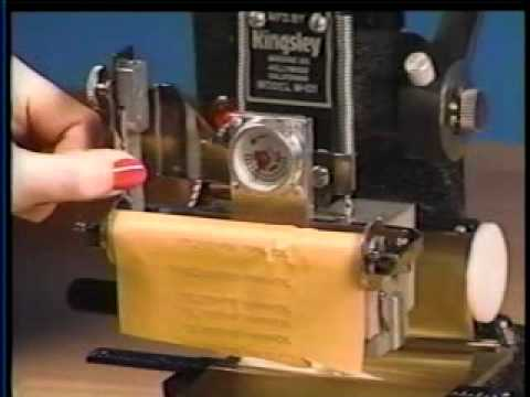 Kingsley Machine Instruction Video: Guthrie Thomas