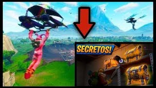 TUTORIAL *GETTING* the *SECRET COFRE* FORTNITE BATTLE ROYALE