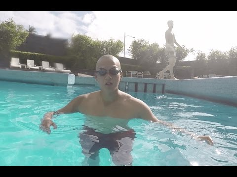 Swimming in the Philippines