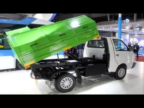 Ashok Leyland Dost Strong LS Garbage Tipper at 2016 Auto Expo