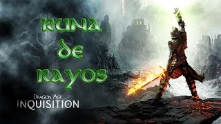Dragon Age Inquisition - Guía Diagrama - Runa de Rayo