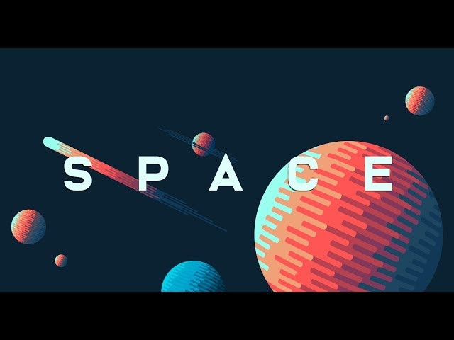 Graphic Design | Space Illustration | Adobe Illustrator Tutorial