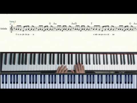 Amei Te Ver (Tiago Iorc) - Piano - Videoaula  - Partitura